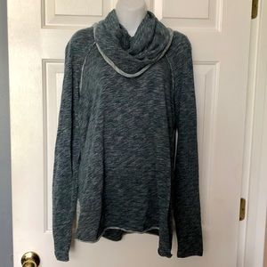 Free People ❤️ Cowl Neck Long Sleeve Top